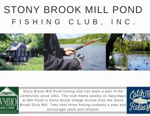 Stony Brook Mill Pond Fishing Club, Inc.