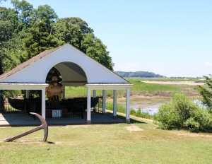 Hercules Pavilion and Polaris Whaleboat