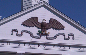 The Stony Brook Post Office / Mechanical Eagle